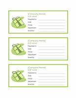 3 Employee Gift Certificates