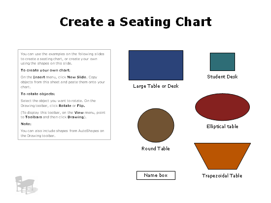 Multiple Seating Chart