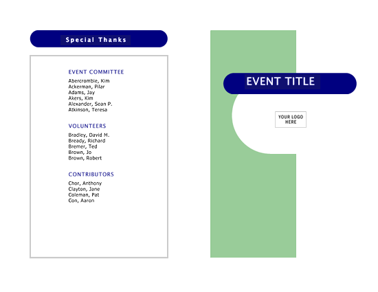Event Schedule Capsules Design Schedules Templates - Microsoft office design templates