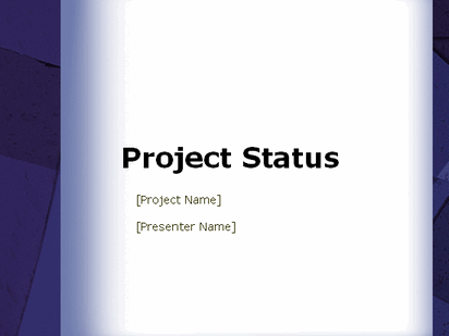 Project Status Report Powerpoint Templates – Microsoft Office Report Template