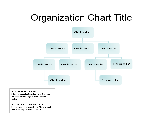 Organizational Chart (basic Layout)