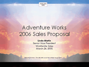 Sales strategy proposal presentation free download