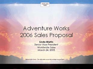 Sales strategy proposal presentation free download