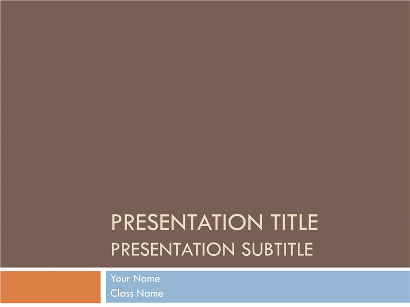 Student presentation free download