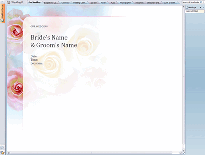 Wedding planner notebook free download