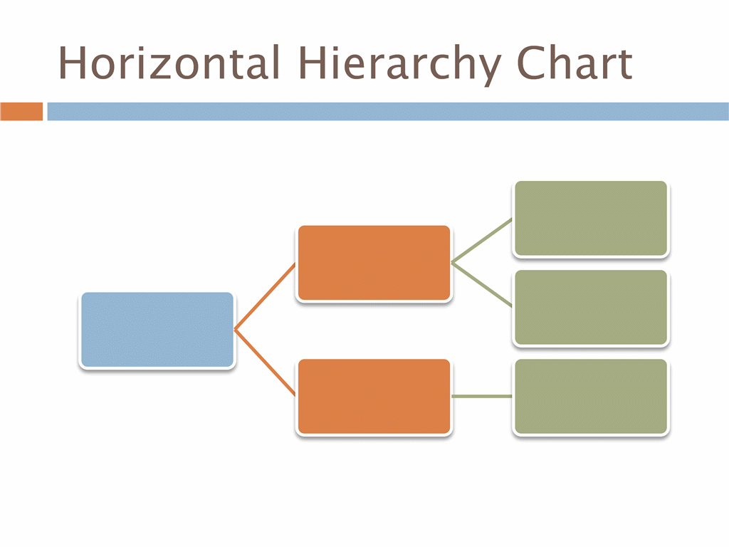 Horizontal hierarchy chart free download