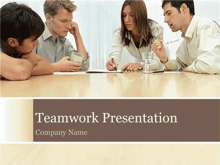 Teamwork presentation free download