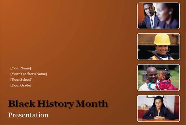 download black history month presentation powerpoint templates