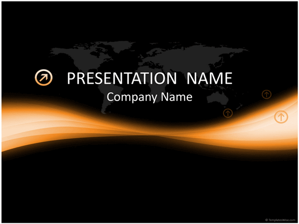 Light streams business presentation free download