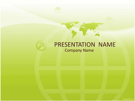 Worldwide Business Presentation (green)
