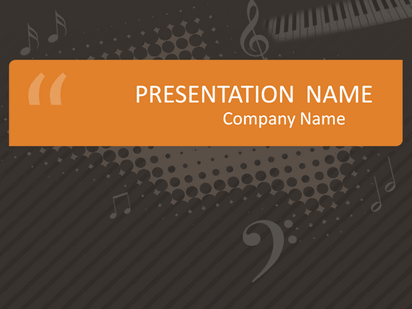Music class presentation free download