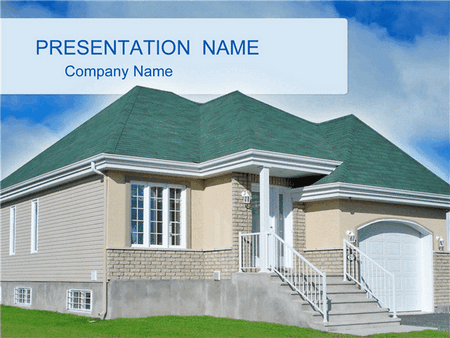 Private house business presentation free download