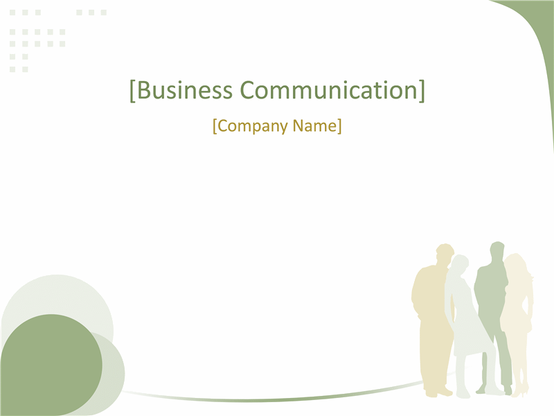 Business Presentation (green Wave Design)