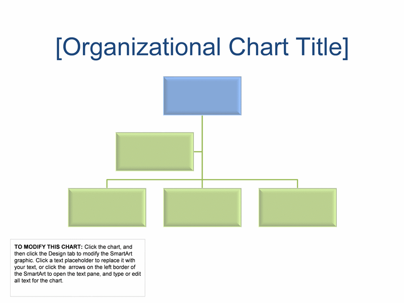 Business Organizational Chart Template free download