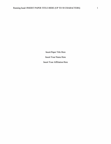 apa title page template 6th edition - blog archives hiverutor