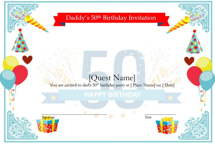 Charming 50th Birthday Gifts for Dad free download