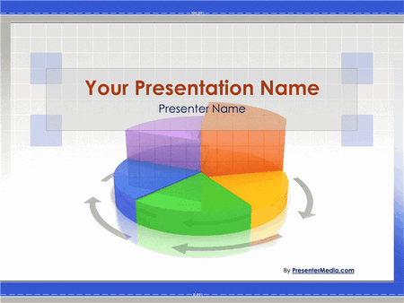 Animated Business Pie Chart Presentation