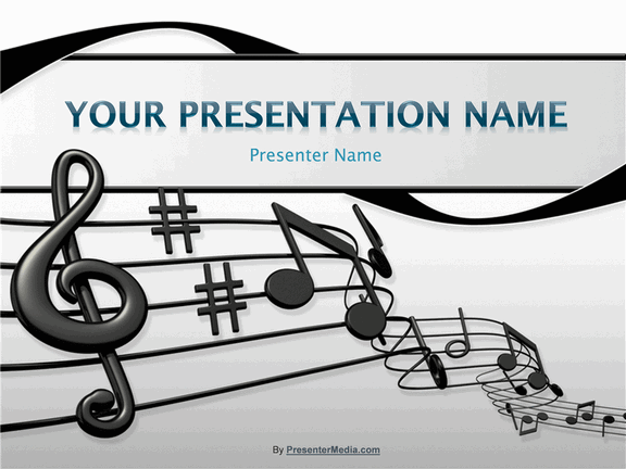 Sheet Music Presentation