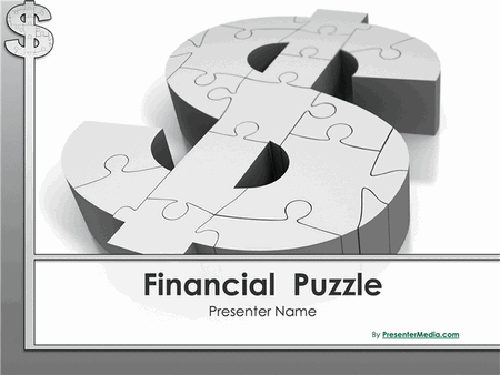 Financial puzzle presentation free download