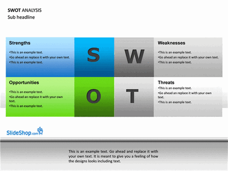 SWOT analysis examples free download
