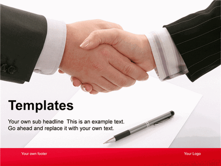 Business deal presentation free download