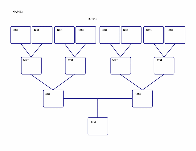 Family tree (4 generations) Templates Free Download