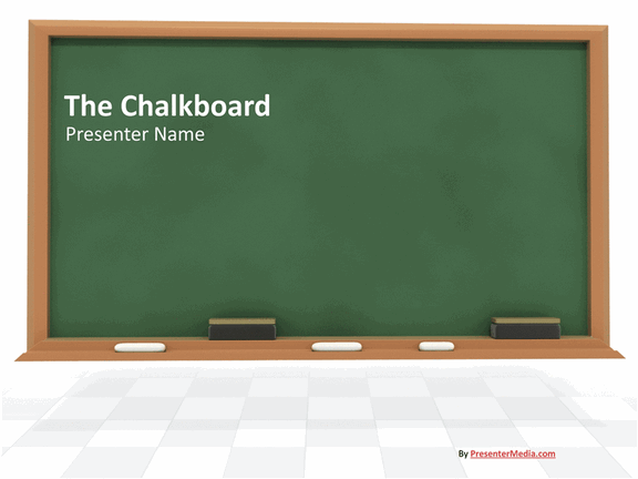 chalkboard presentation powerpoint templates. Black Bedroom Furniture Sets. Home Design Ideas
