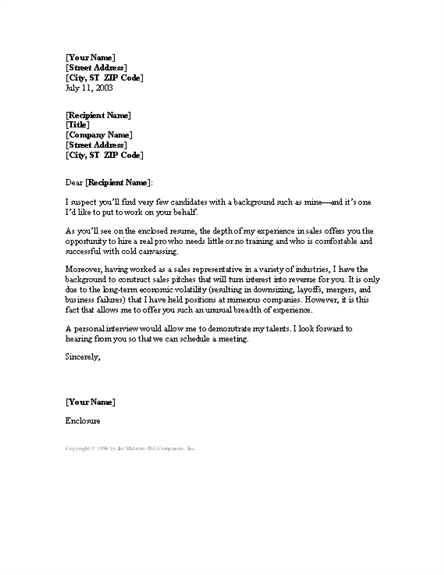 cover letter when you 39 ve had many jobs cover letters templates