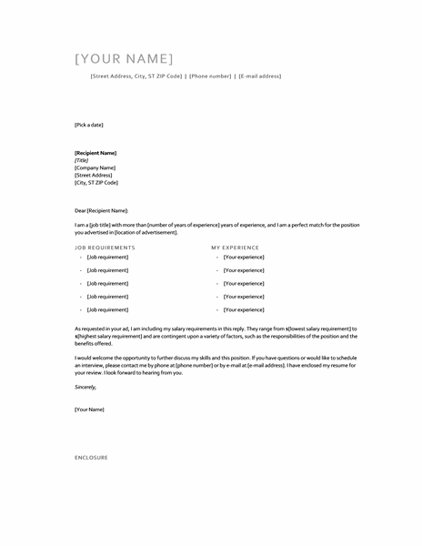 cover-letter-with-salary-requirements_010168652 Salary Requirements Medical Office Cover Letter Template on