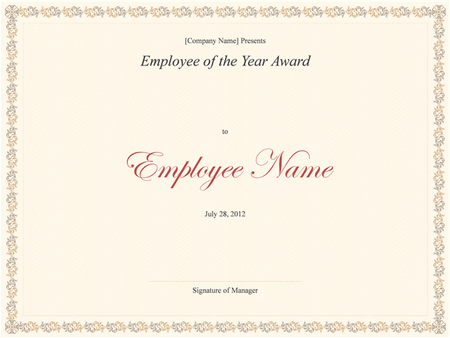 Download certificate for microsoft office software its a free employee of the year award template yelopaper Choice Image
