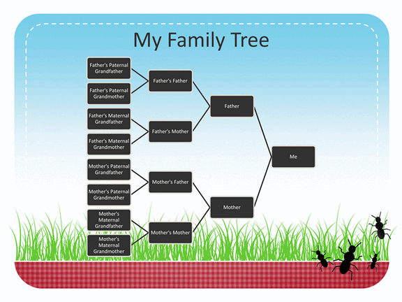 Family Reunion Family Tree