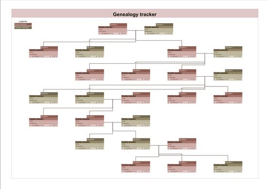 Family Tree (landscape, Metric Units)