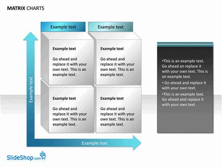 Matrix Chart Examples (15 Slides)