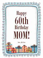 Milestone Birthday Wanted Poster Template