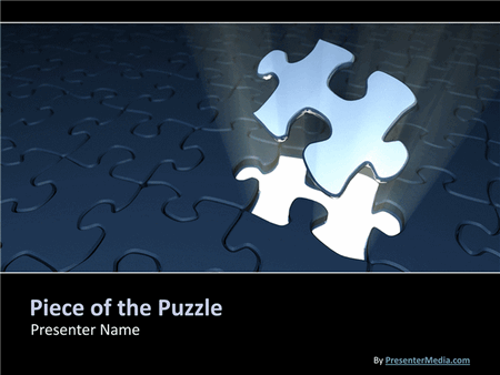 Piece Of The Puzzle Presentation