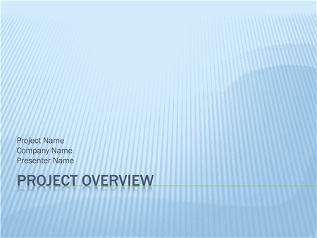 Project Overview Presentation