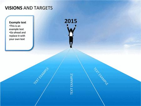 Visions And Targets Presentation Slides