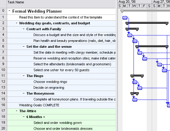 download wedding planner for microsoft office software