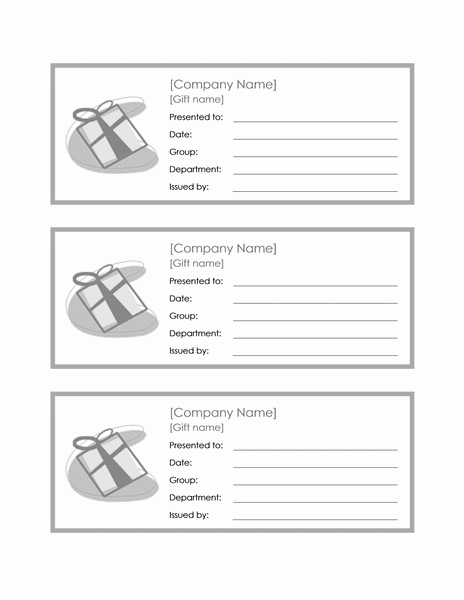 Download 01 3 Employee Gift Certificates