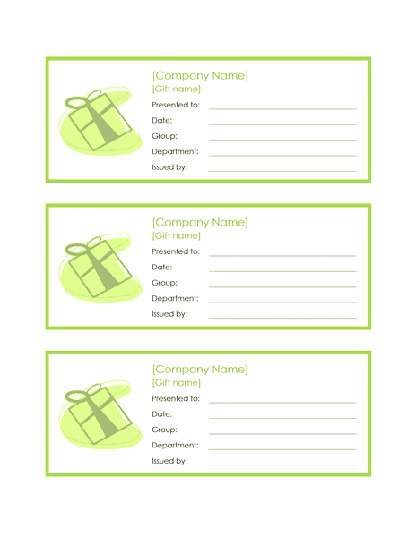 Download 02 3 Employee Gift Certificates