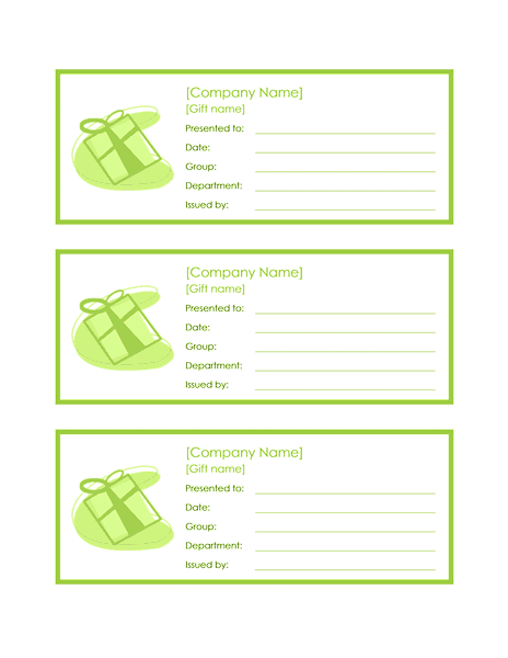 Download 03 3 Employee Gift Certificates
