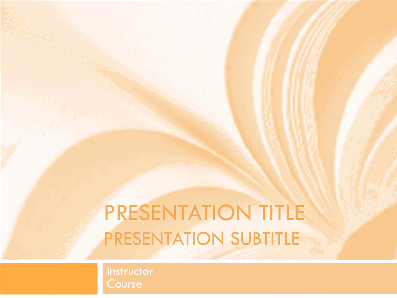 02 Academic Presentation For College Course In Textbook Design