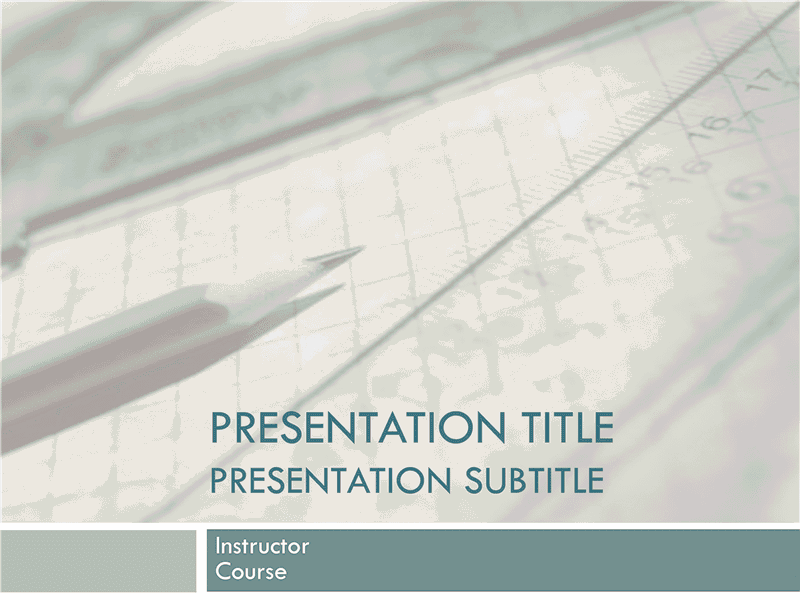 01 Academic Presentation For College Course