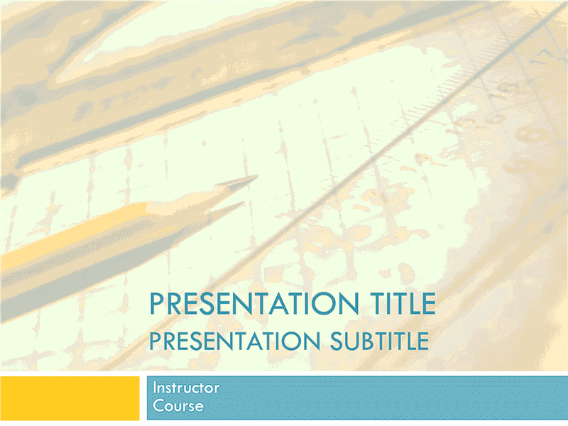 03 Academic Presentation For College Course