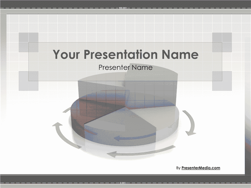 01 Animated Business Pie Chart Presentation