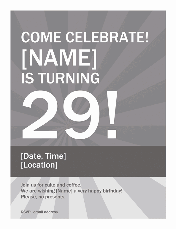 Download Samples-1 Birthday Wanted Poster Template