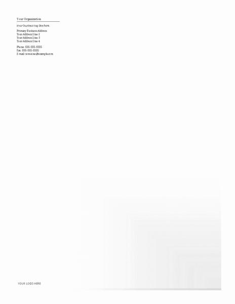Download Samples-1 Business Company Letterhead Template Blue Design