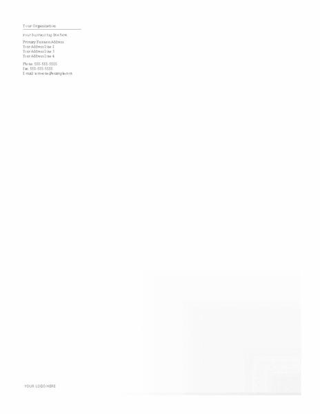 Download Samples-2 Business Company Letterhead Template Blue Design