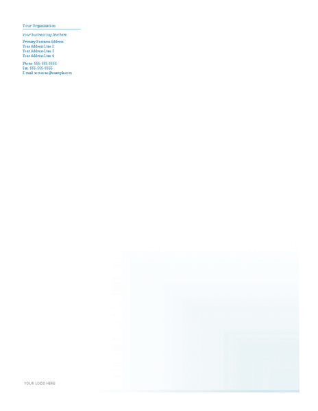 Download Samples-3 Business Company Letterhead Template Blue Design