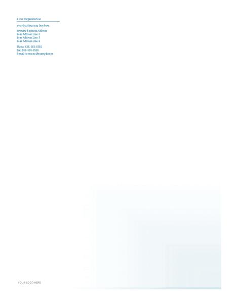 Download Samples-3 Business Company Letterhead Template Blue Design
